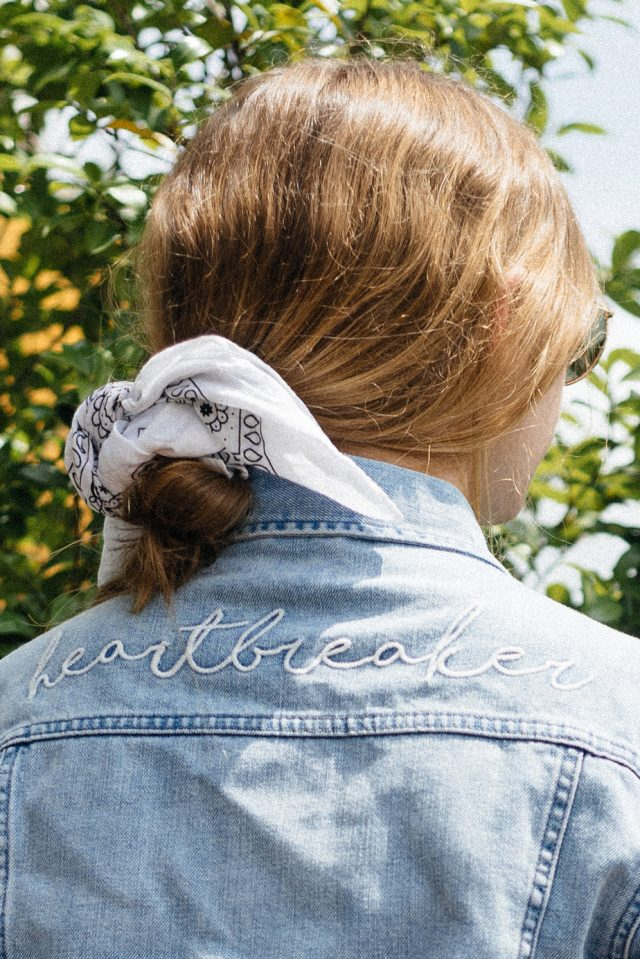 Heartbreaker Denim Jacket, By The Way | NZ Travel Fashion Blog | StolenInspiration.com