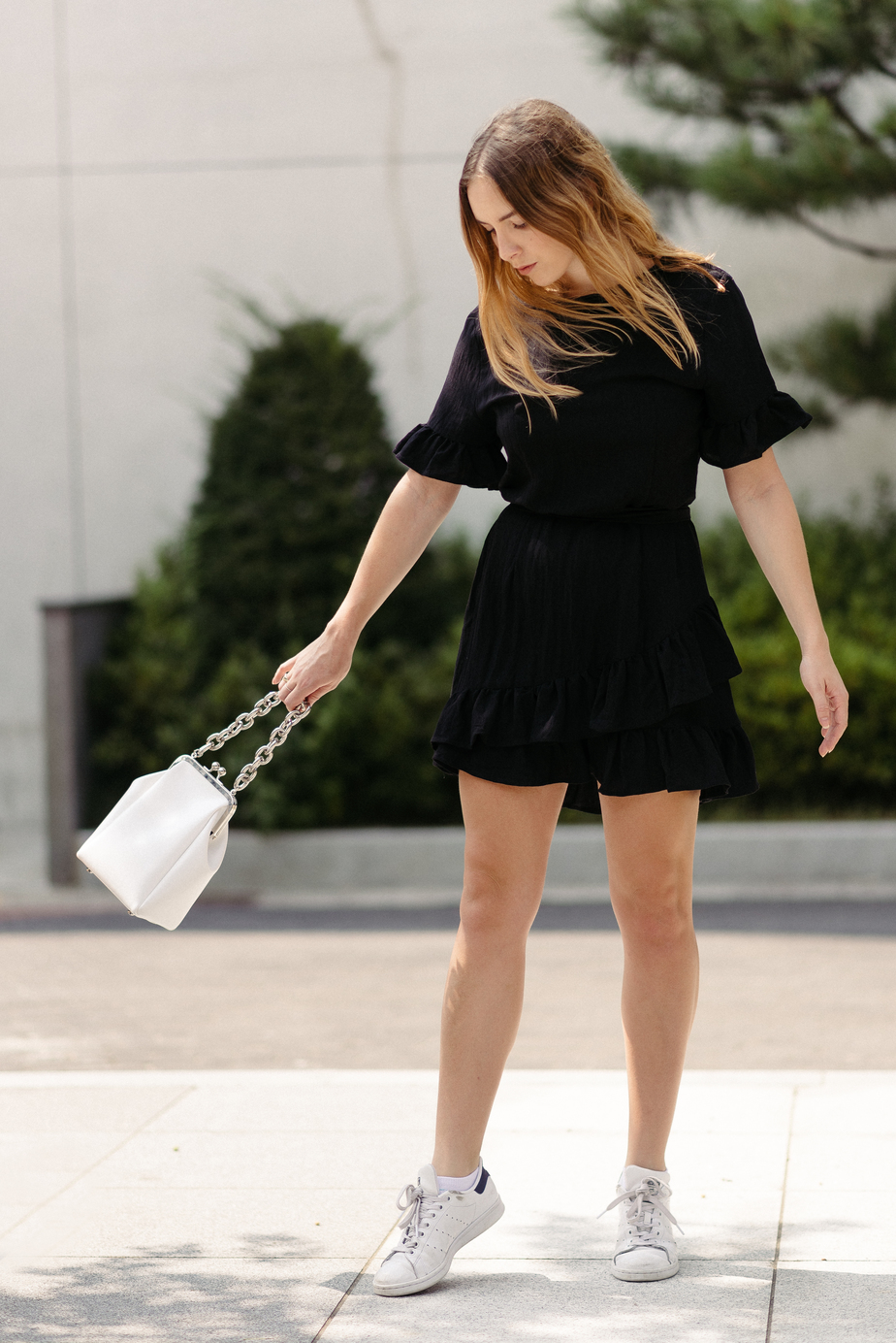 Atmos & Here Dress, Stylenanda Bag | StolenInspiration.com NZ Fashion & Travel Blog