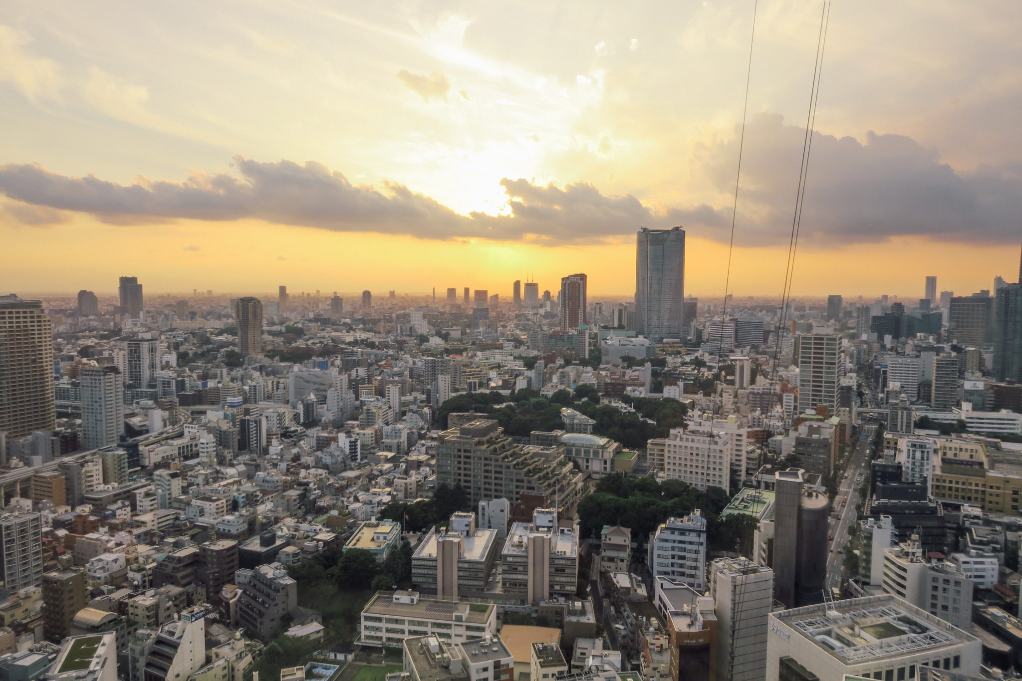 Tokyo Tower Japan 2017 View