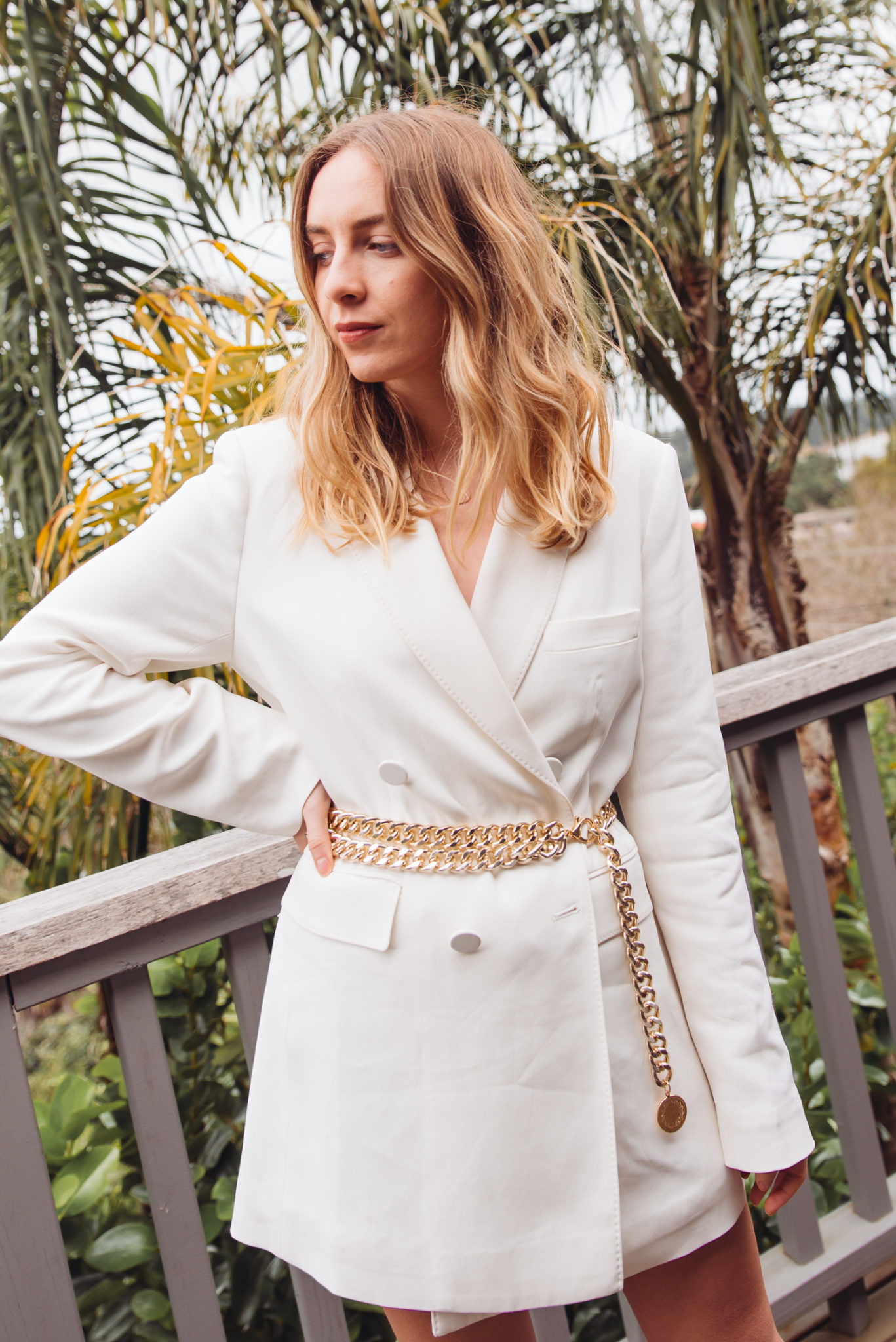 Witchery Belted Blazer, Chain Belt and Urban Outfitters White Boots | Stoleninspiration.com NZ Fashion Blogger.jpg1
