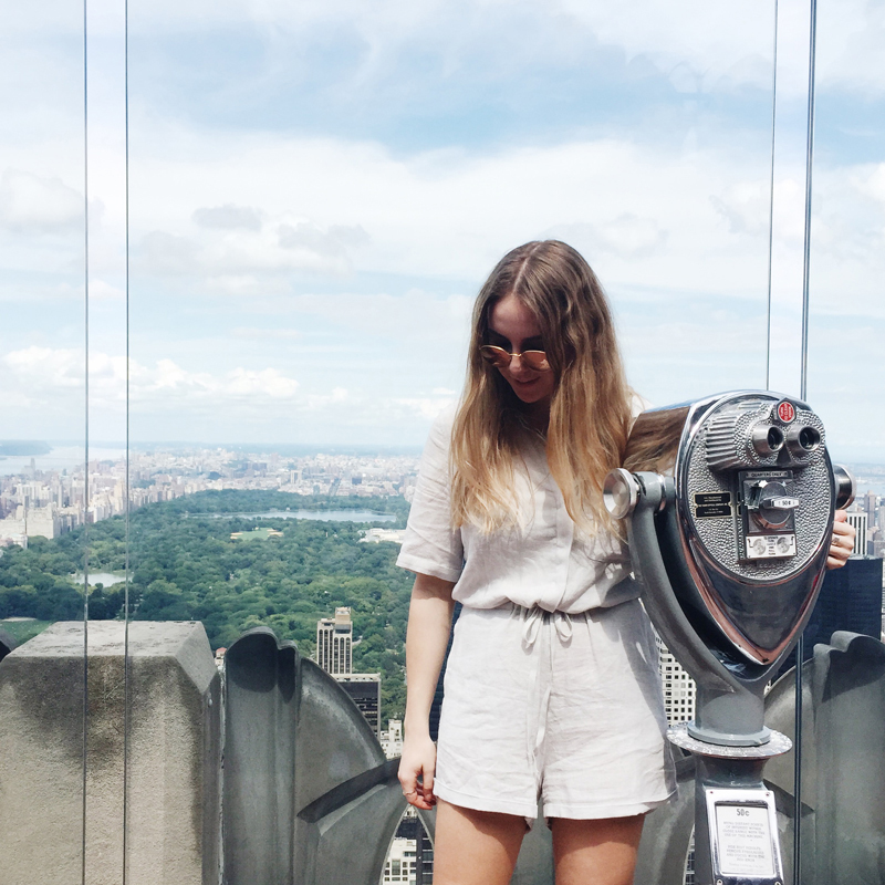 Top Of The Rock | NYC Guide StolenInspiration.com NZ Fashion Blog 2