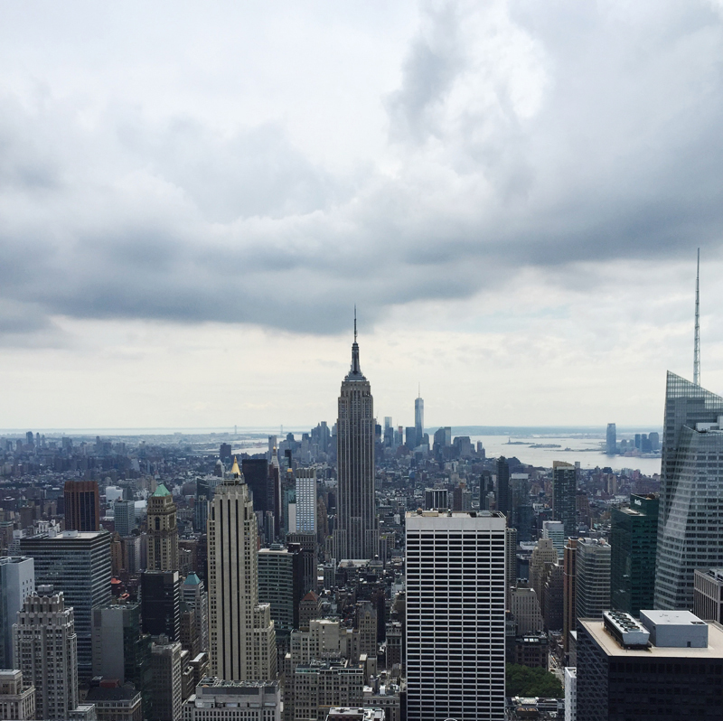 Top Of The Rock | NYC Guide StolenInspiration.com NZ Fashion Blog