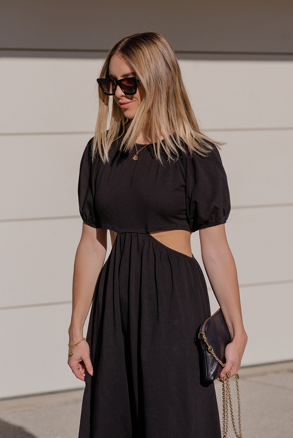 ASOS Dress, Converse Sneakers, Deadly Ponies Bag | StolenInspiration.com NZ Fashion Blog
