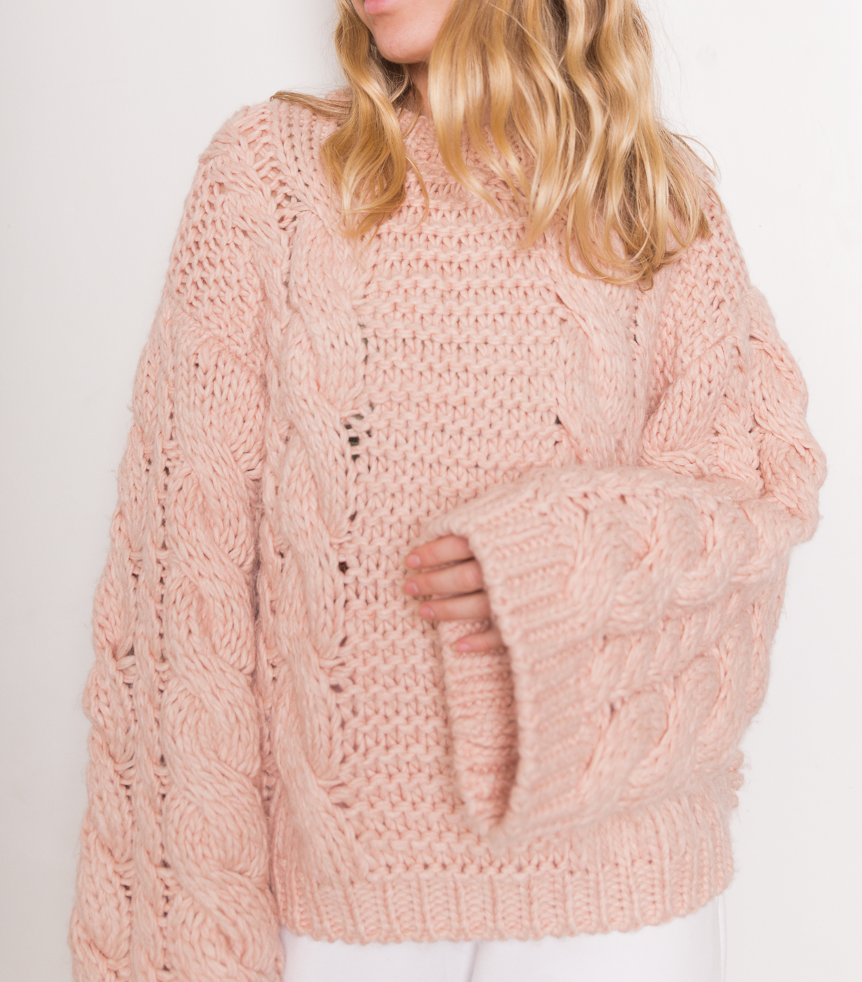 Chunky Cable Knitted Sweater