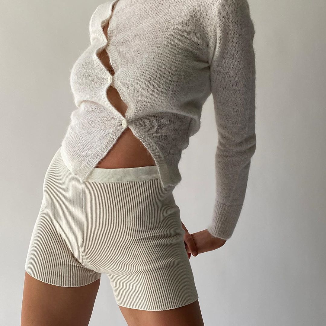 Ribbed Shorts | Trends 2020 | StolenInspiration.com NZ Fashion Blog